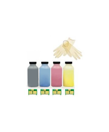 4 KIT RICARICA TONER HP CM 1312MFP, CP 1210, 1215, 1218, 1515, CHIP, KIT (BK-C-M-Y) (2,2K/1,4K) - - copie