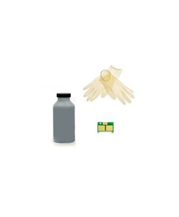 KIT RICARICA TONER, CHIP NERO X HP1500, HP2500, HP2550, HP2800, HP2820, HP2840 BLK- - copie